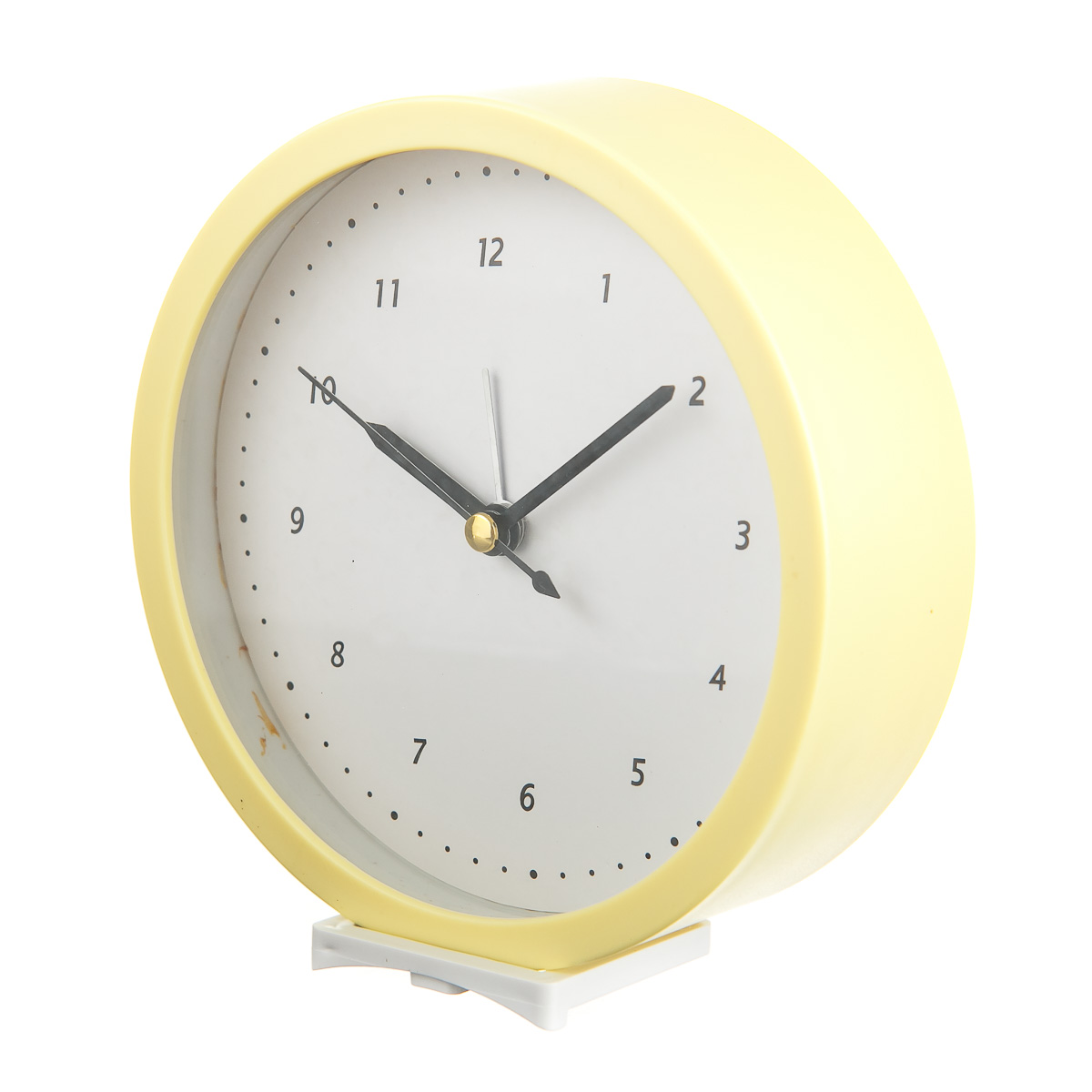 Часы настольные с будильником круглые