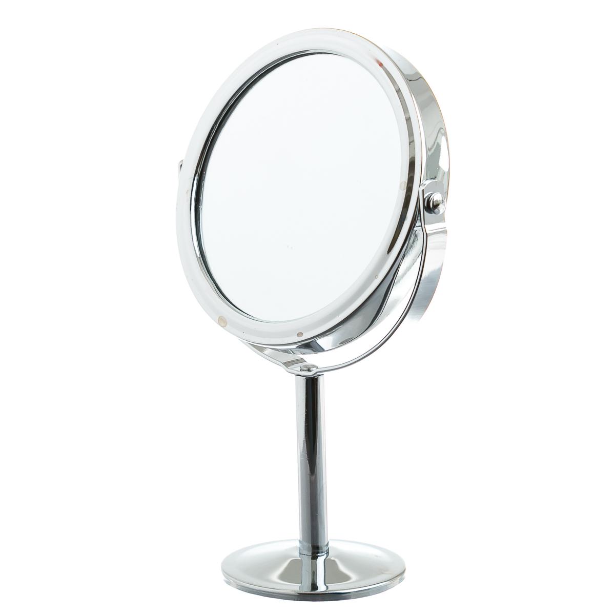 Зеркало круглое на подставке