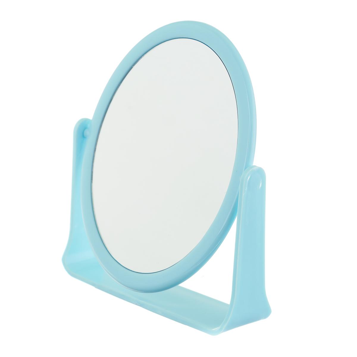 Зеркало настольное круглое  20 см в разных цветах