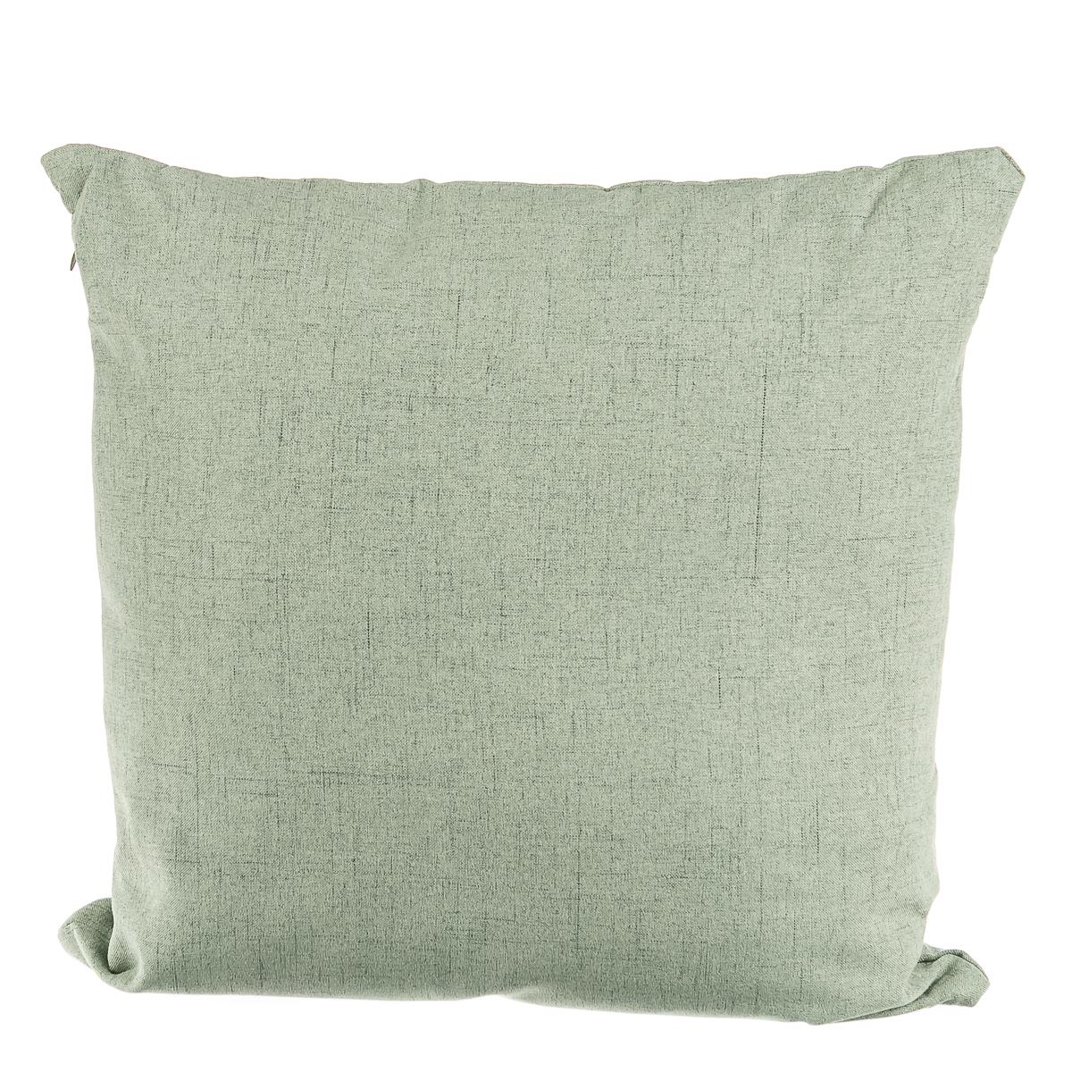Подушка диванная, однотонная, серая