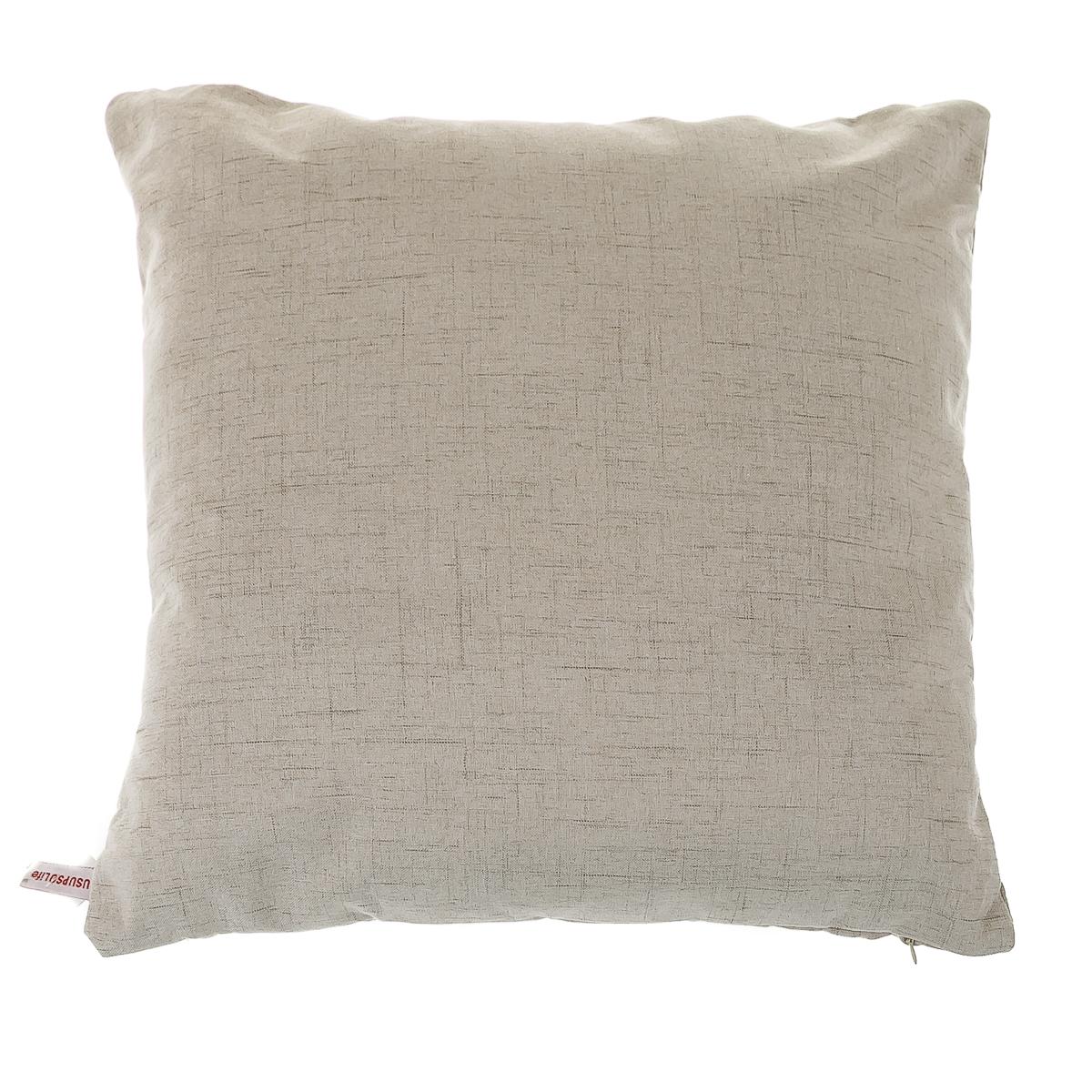 Подушка диванная,бежевая