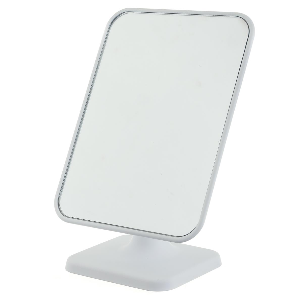 Зеркало, квадратное, чисто белое