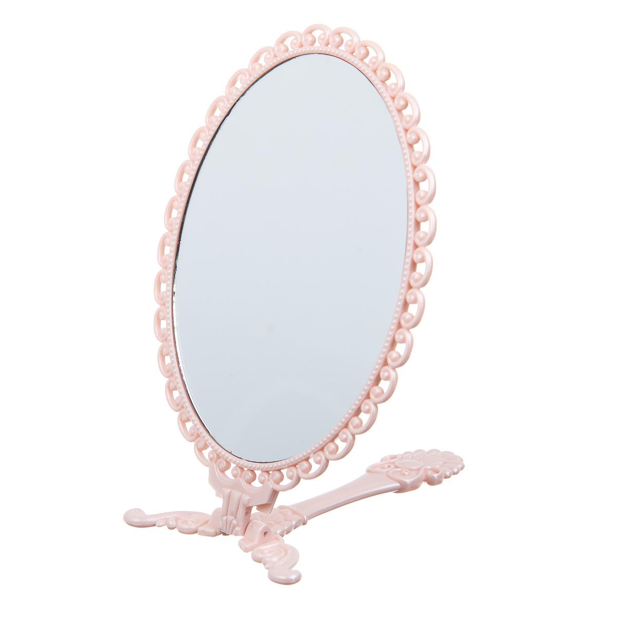 Зеркало раскладное овальное ажурное
