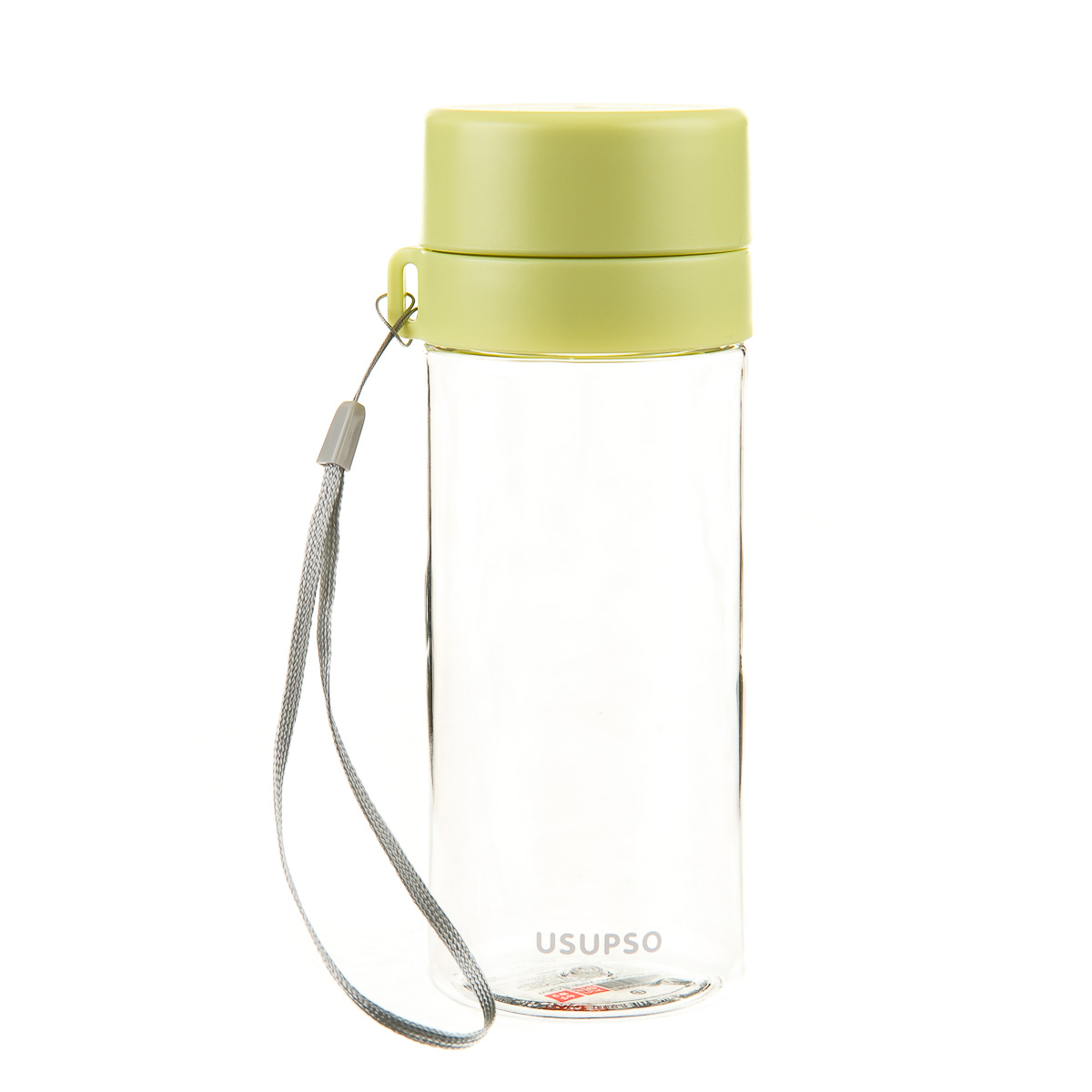 Бутылка пластиковая  с ремешком
