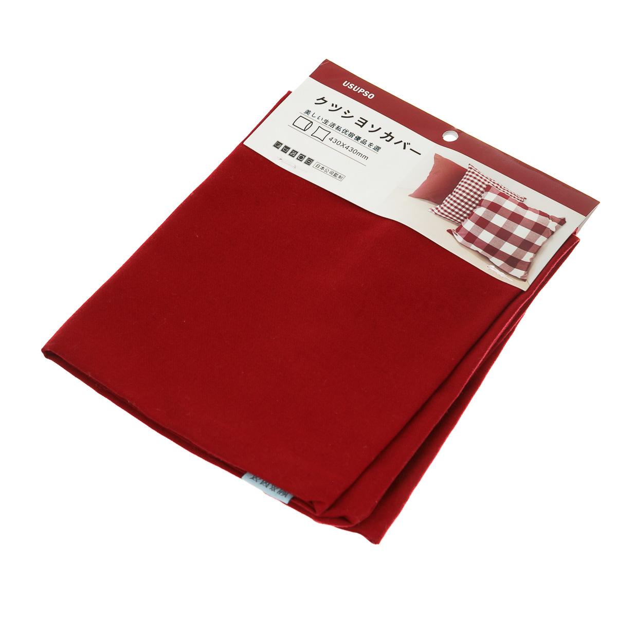 Наволочка для подушки красная