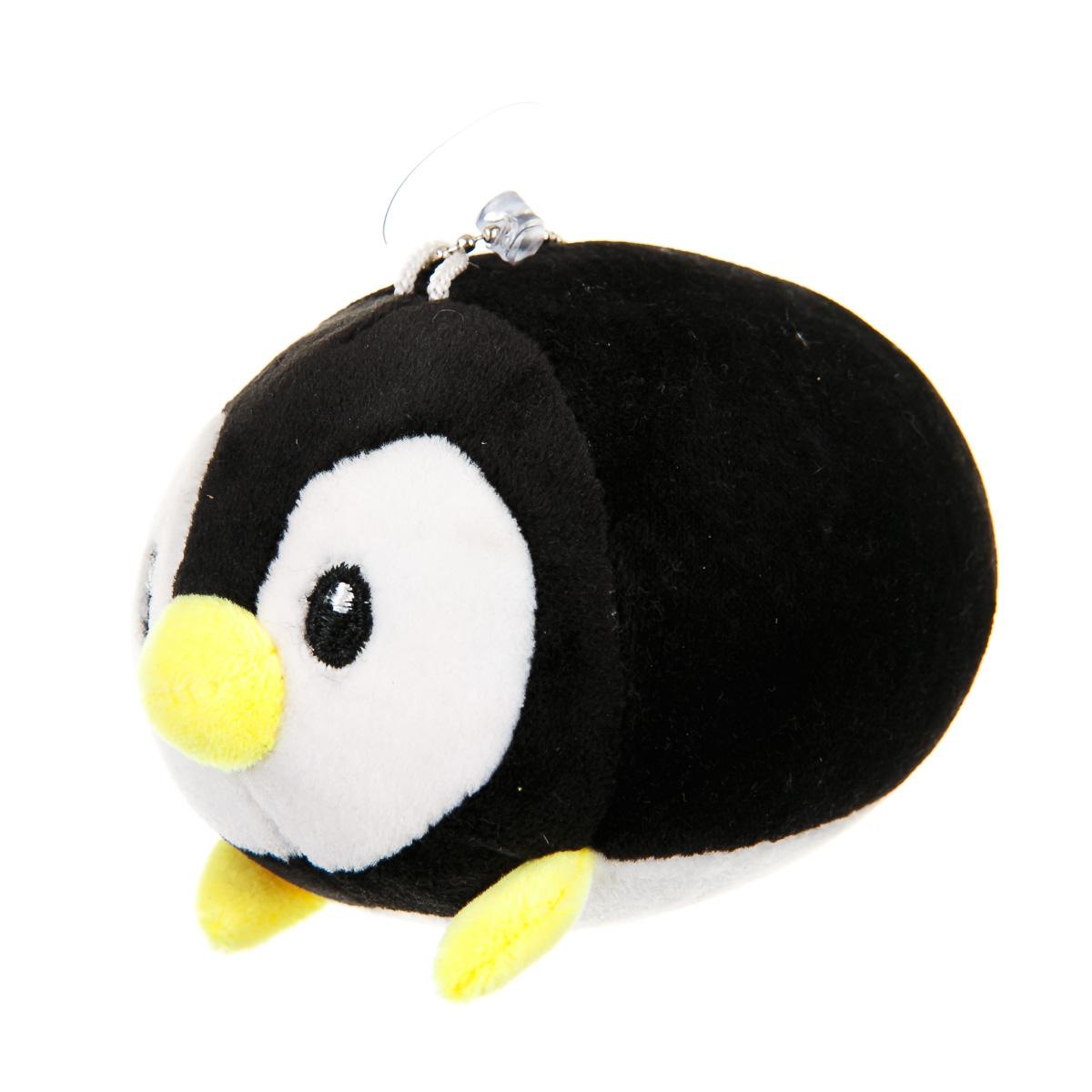 Брелок пингвин черный