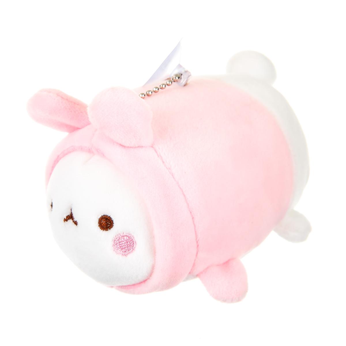 Брелок заяц розовый