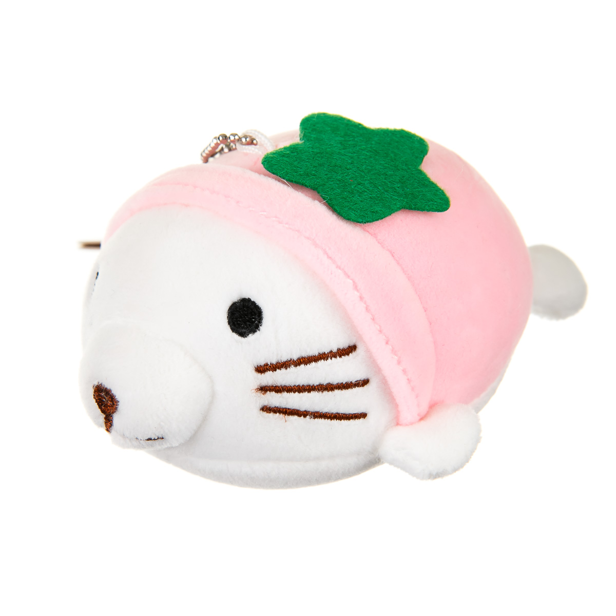 Брелок морской котик розовый
