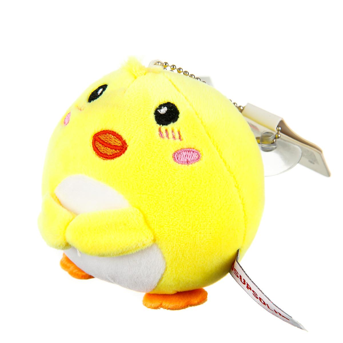 Брелок цыпленок желтый