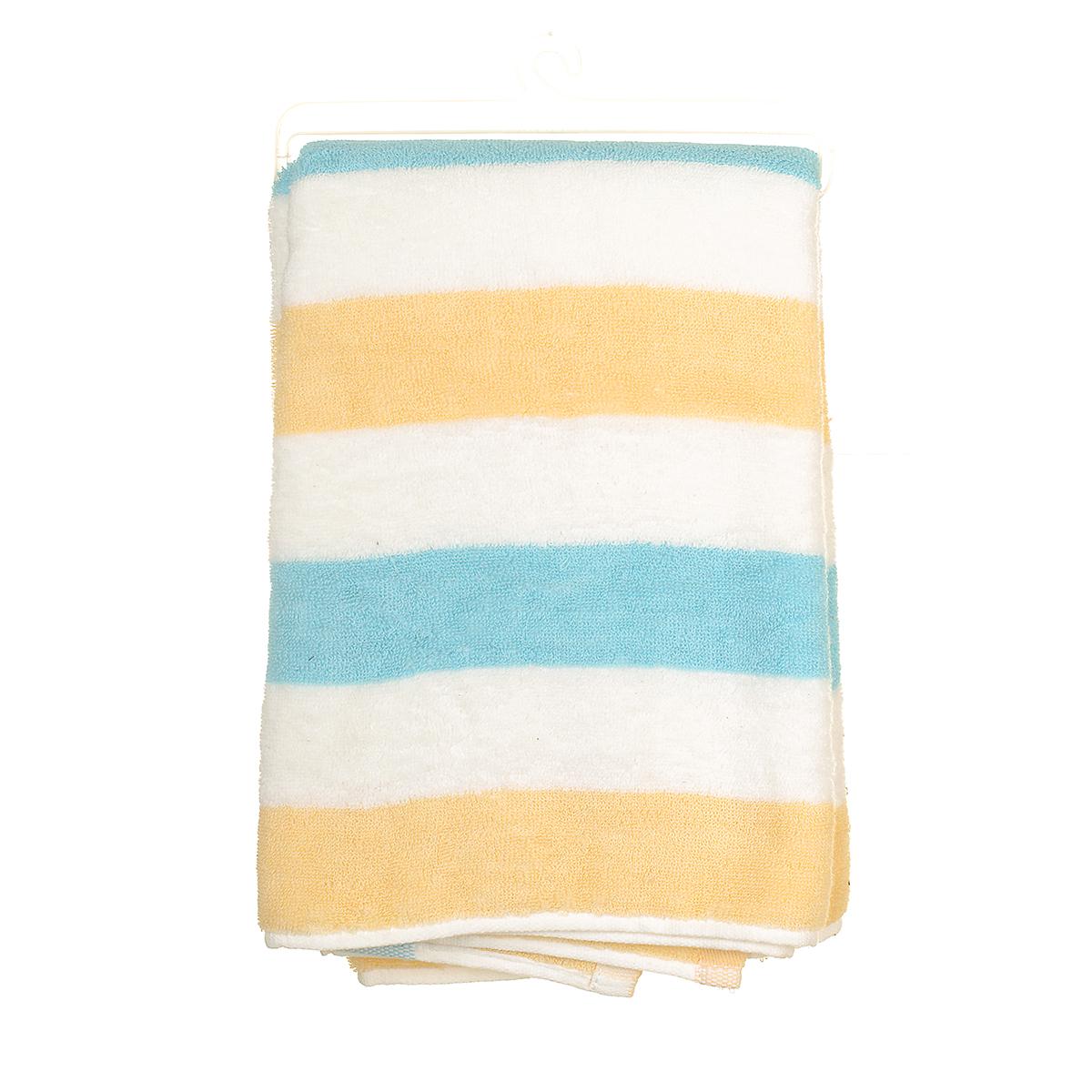 Полотенце банное полосатое