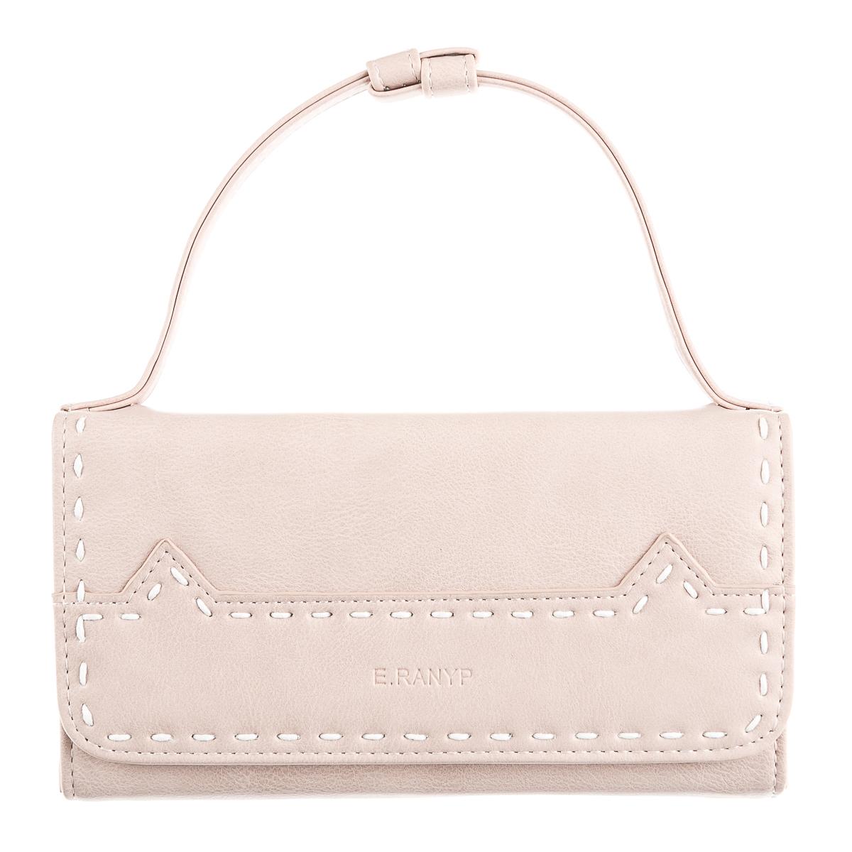 Кошелек-сумочка розовый