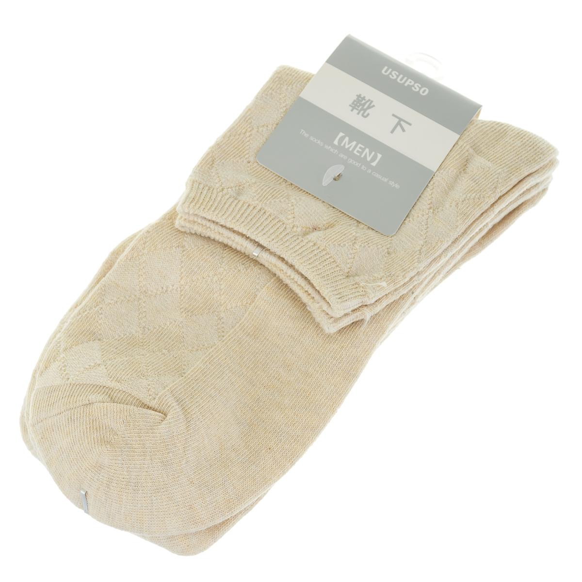 чоловічі шкарпетки, слідки, комплект-2 пари арт.4707120501013
