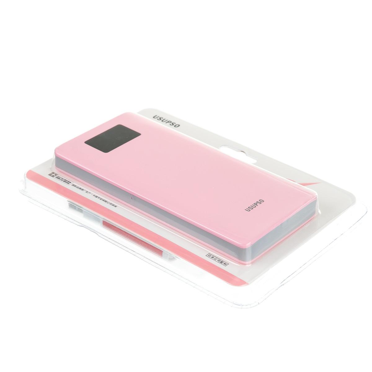 УМБ Power Bank розовый 10000 мАh