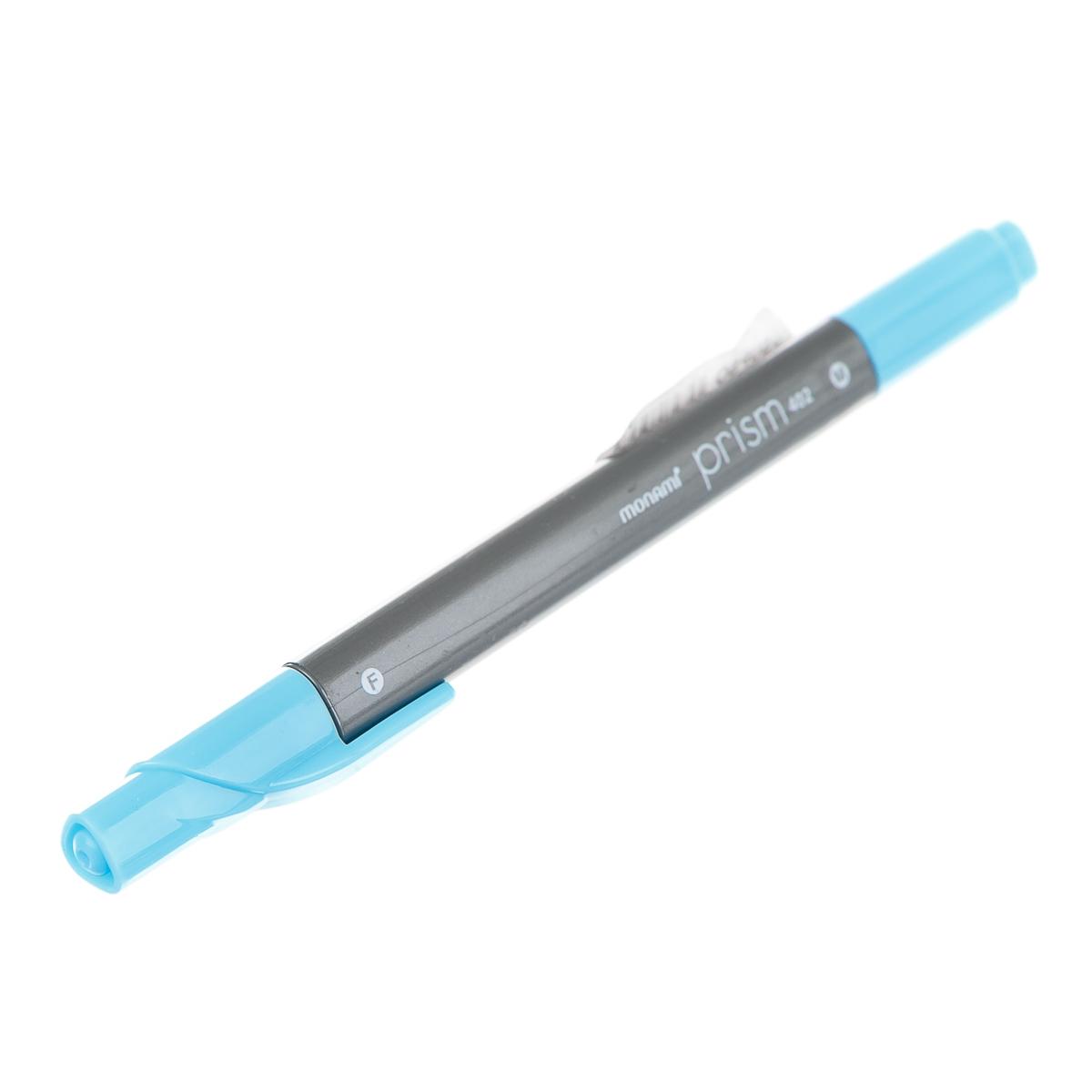 фломастер для малювання, з двома стрижнями, блакитний колір арт.4707135616014