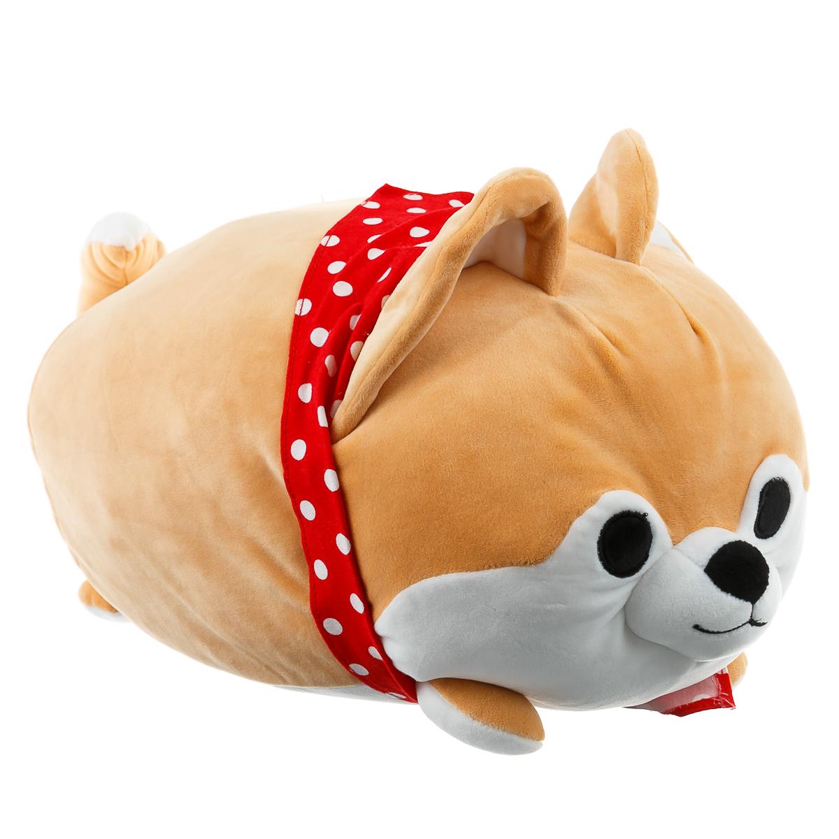 Игрушка собака акита-ину большая
