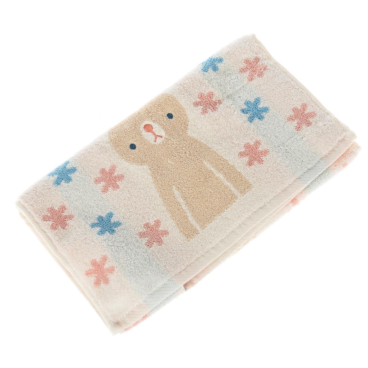 Детское полотенце, с зайцем (1 шт в наборе)