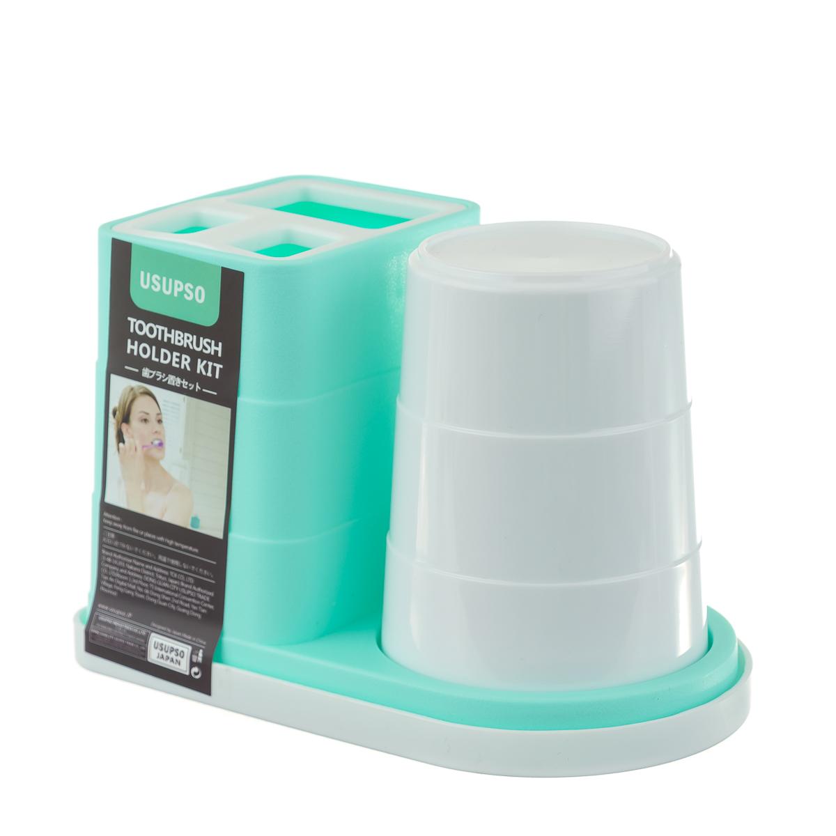 Подставка для зубных щёток со стаканом