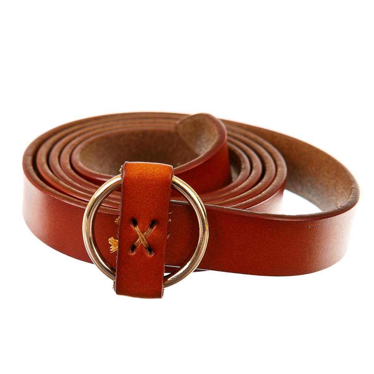 Пояс оранжевый с кольцом и крестом