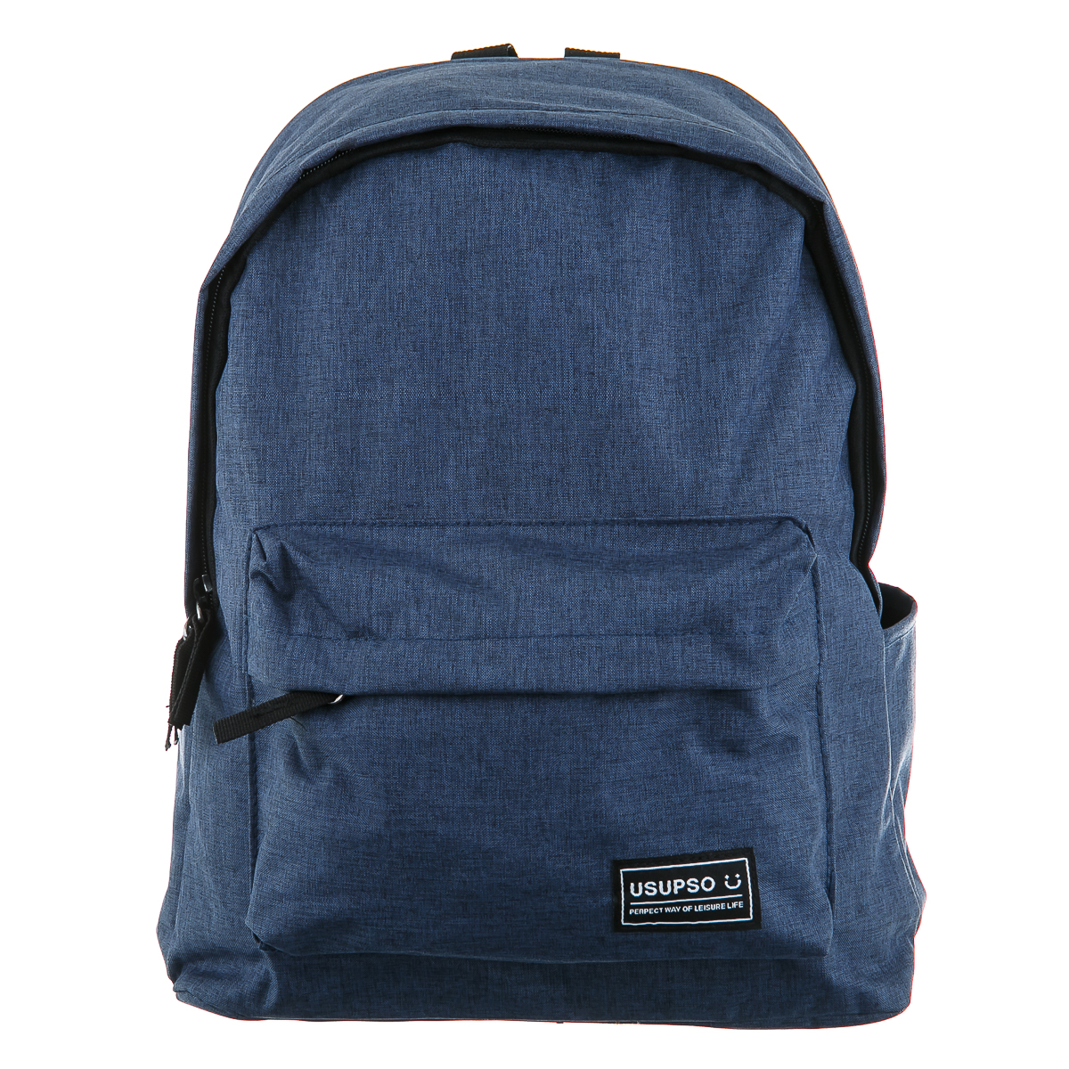 Рюкзак Светло-синий с черной фурнитурой