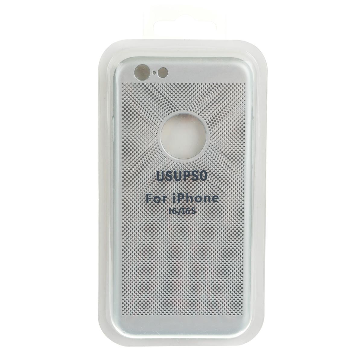 Чехол для телефона iPhone 6+ / iPhone 6S+ серый