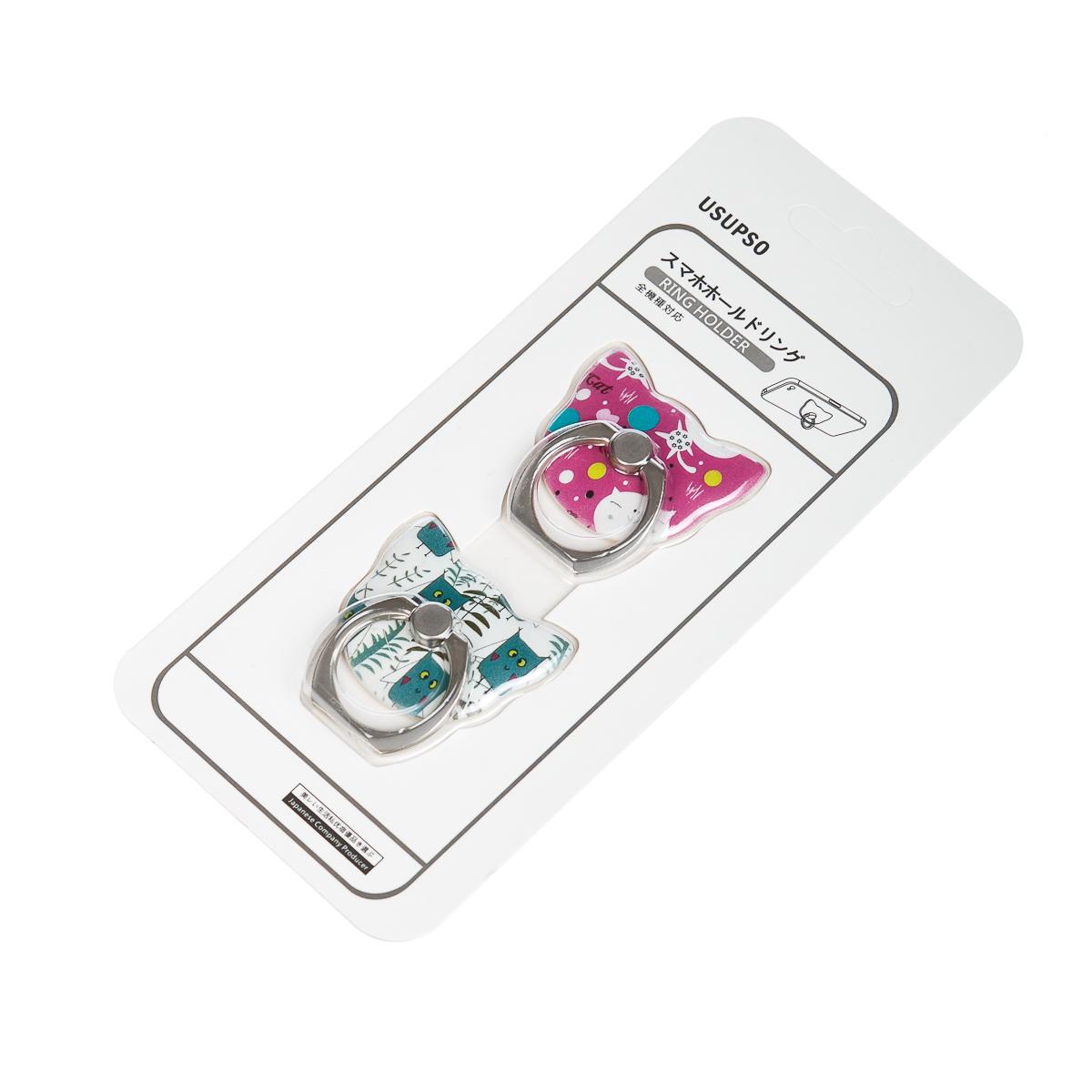 Кольцо для телефона 2 шт. арт.4712111506006
