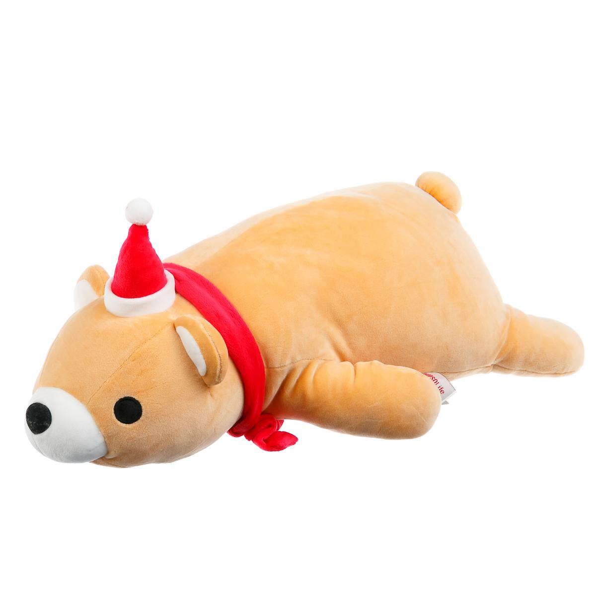 Мягкая игрушка Рождественский медведь
