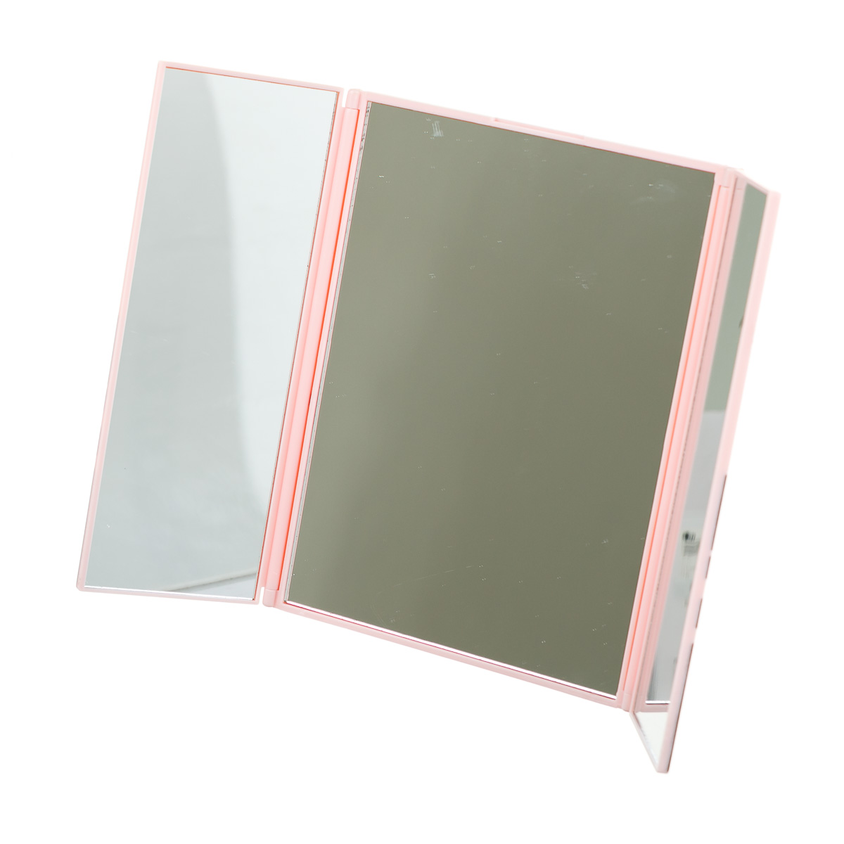 Зеркало с медвежонком Кумамон розовое