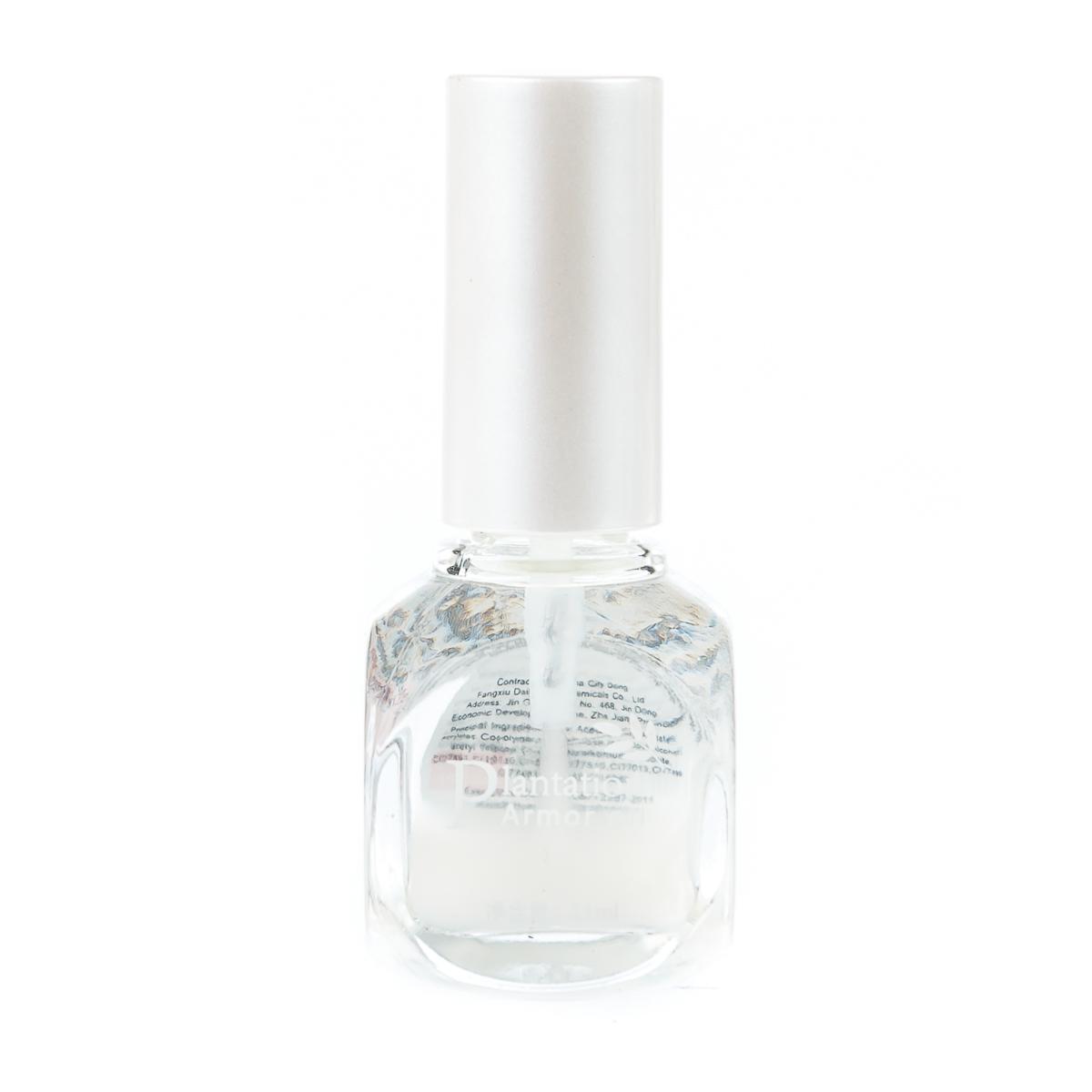 Лак для ногтей прозрачный белый оттенок