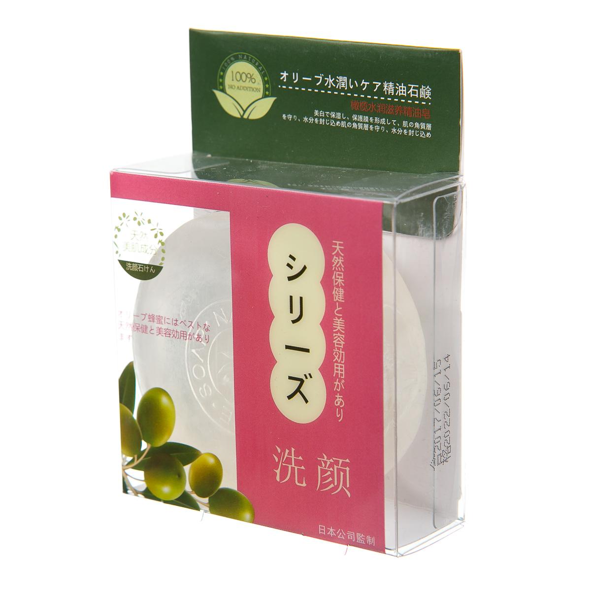Мыло с маслами и оливковым экстрактом
